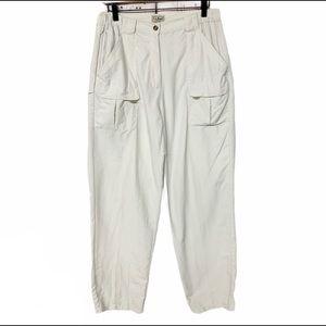 LL Bean supplex cargo nylon hiking camping pants